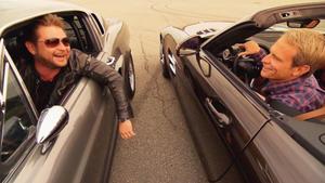 Mustang gegen SLS AMG Roadster u.a.