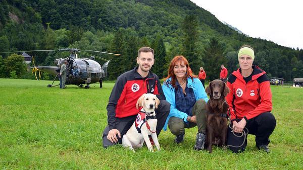 """Hunde der """"Hubschrauber Rettungsstaffel"""""""