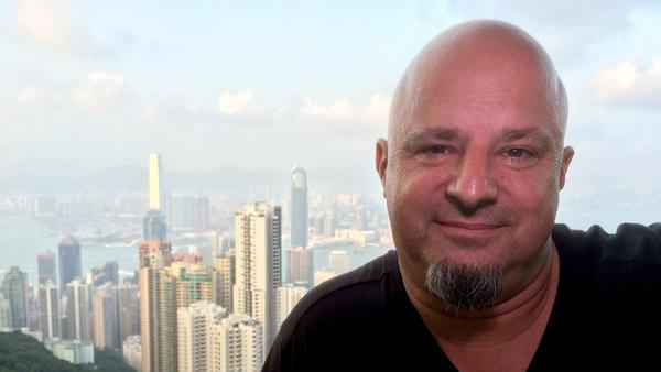 Detlef in Hongkong