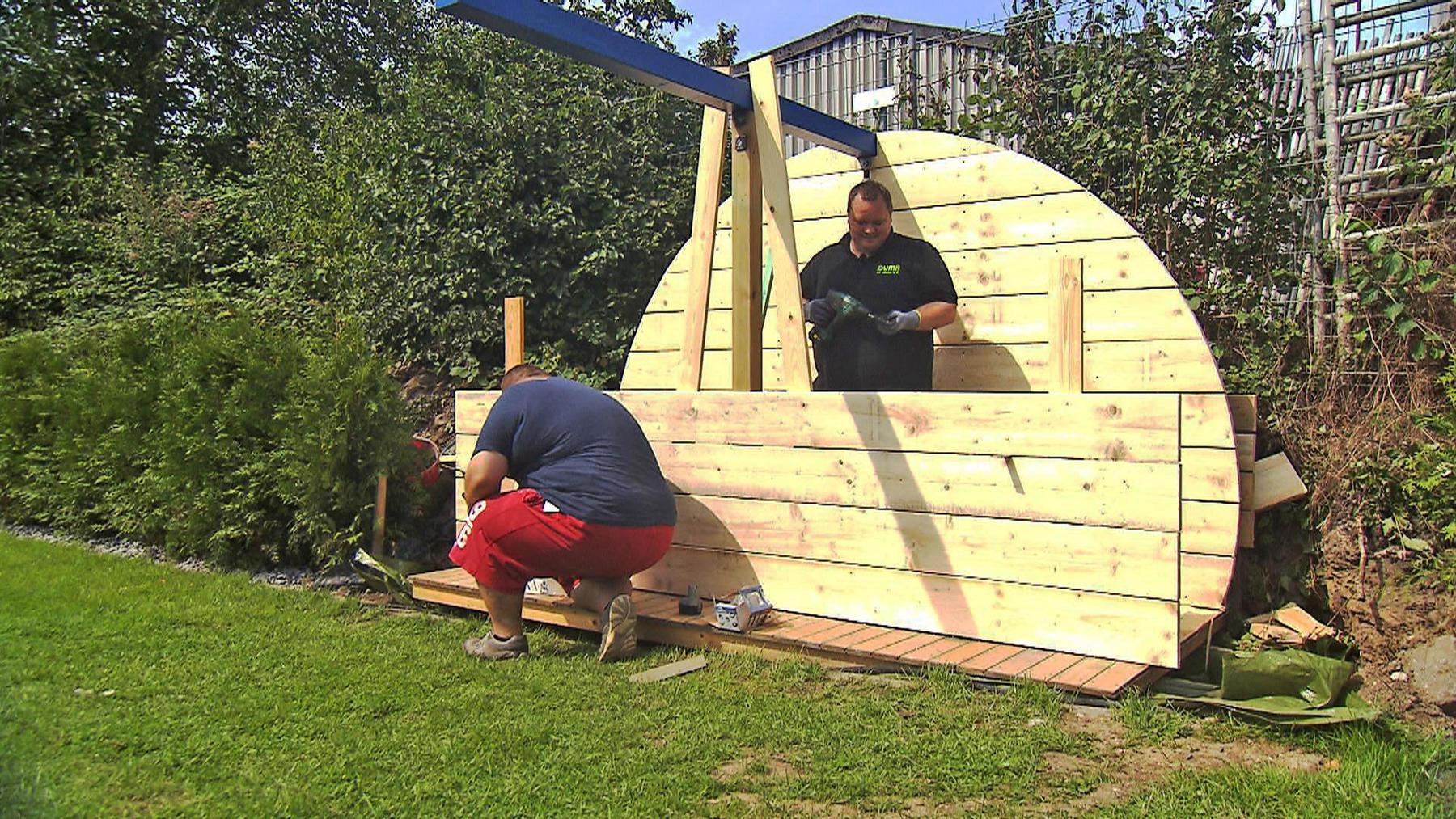 Familie Mäckel bauen ein Kinderhaus