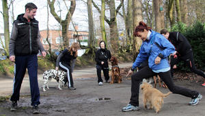 Ein Fitnesscoach für Mensch und Hund
