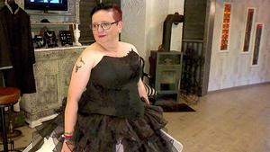 Die Braut in Schwarz