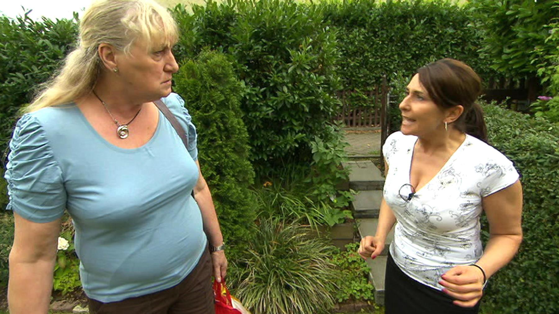 Hilfsbereite Nachbarin überschreitet ihre Grenzen