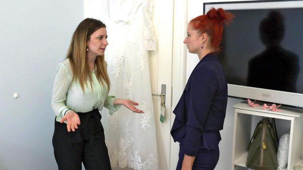 Schwester der Braut misstraut Bräutigam