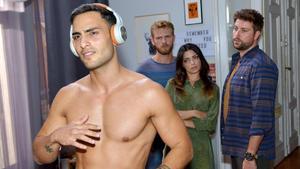 Emily und Paul werden von Nihat nackt begrüßt