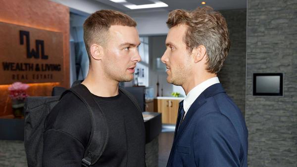 Chris und Felix im Streit