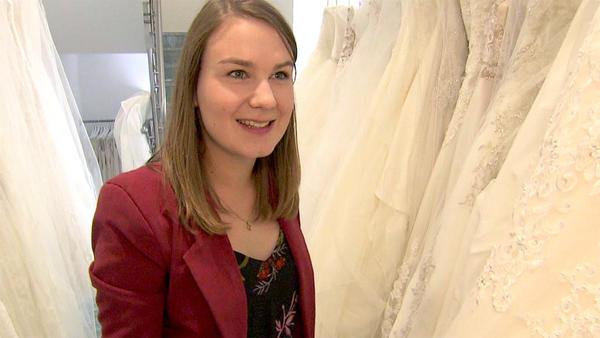 Eine Braut mit großen Ambitionen