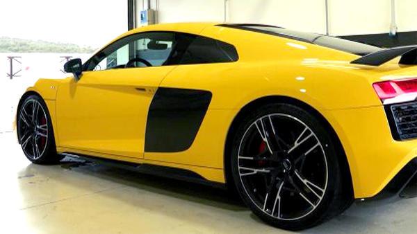 Thema u.a.: Der neue Audi R8