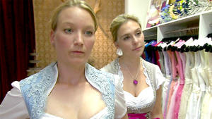 Das Hochzeitsdirndlkleid