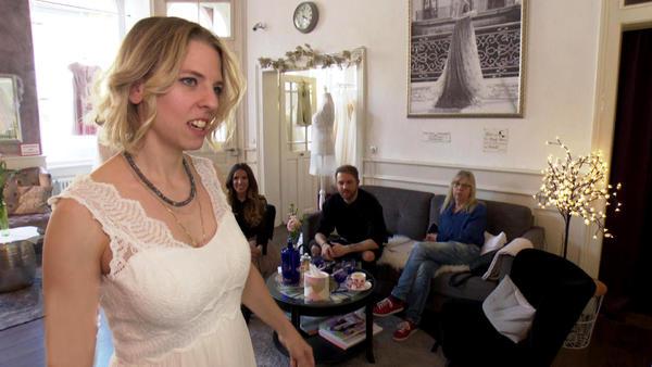 Eine Braut auf der Suche nach dem Brautgefühl