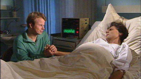 André und Jürgen stecken in der Falle und fragen sich, wie sie sich da jetzt noch herausreden können
