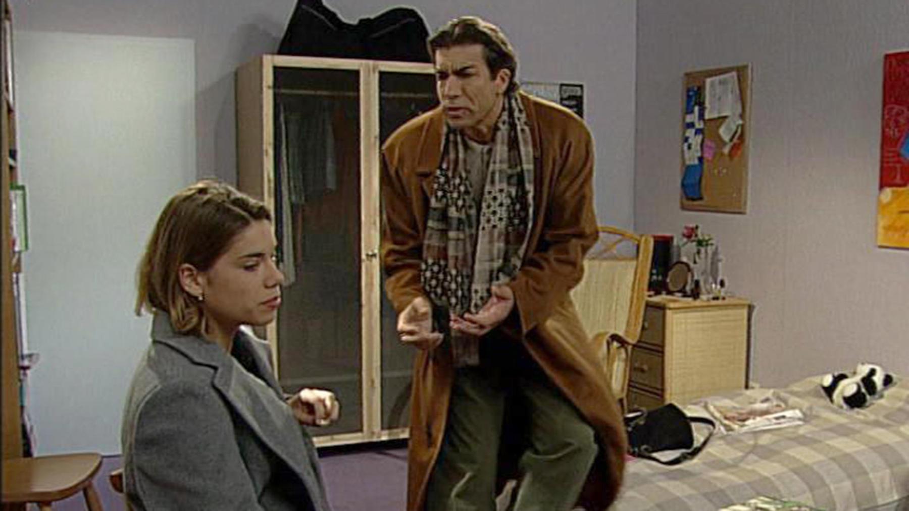 Joachim hat von Claire erfahren, dass er ihr Vater ist
