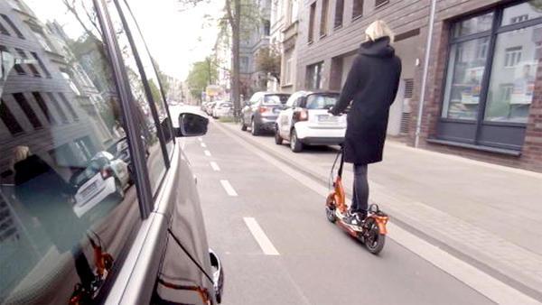Thema heute u.a.: E-Roller
