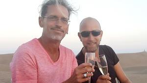 Heute u.a. mit: Frank und Marcus Basler, Gran Canaria