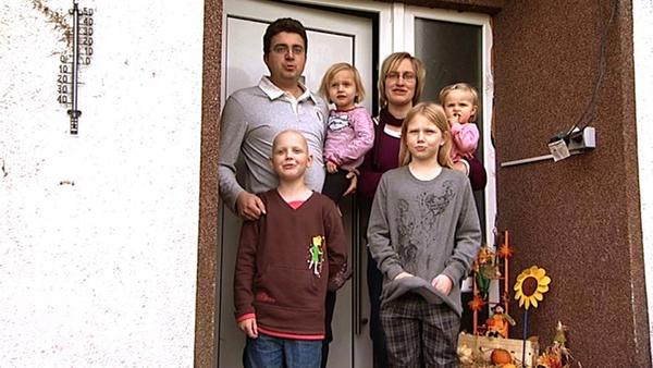 as Haus wurde zu eng für die sechsköpfige Familie