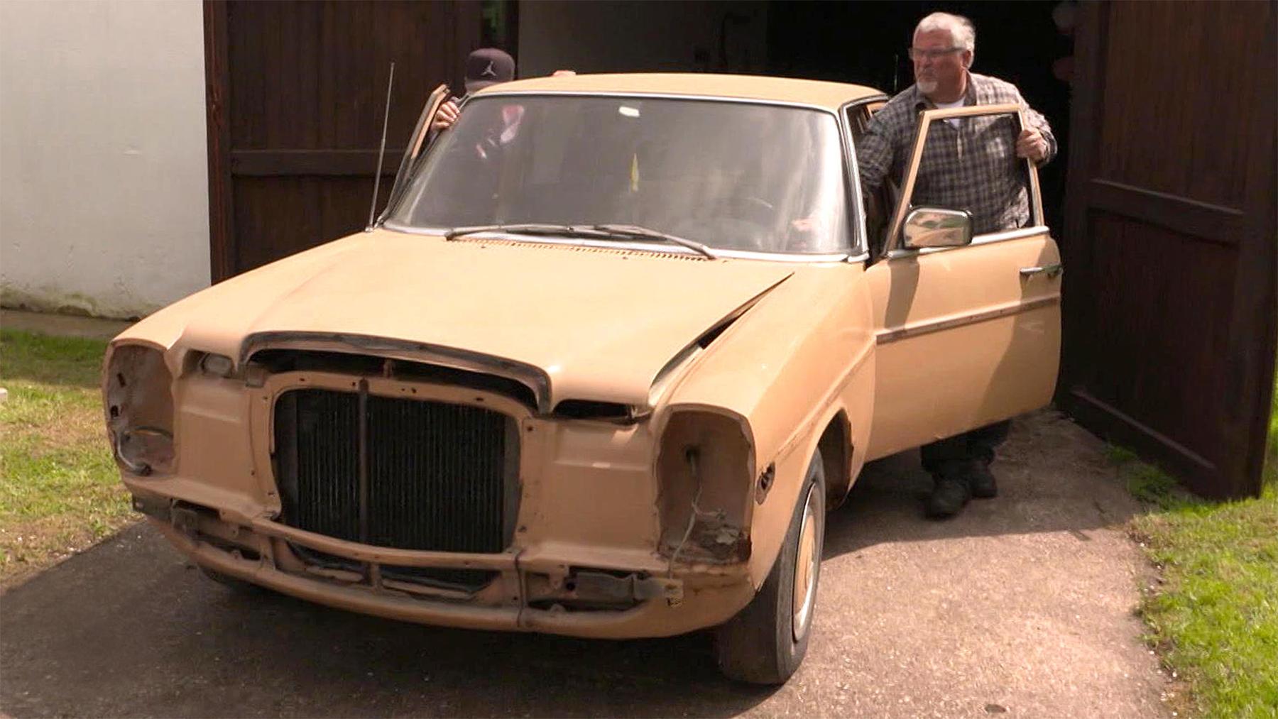 Thema heute: Die Tuning Profis und der Mercedes Benz Oldtimer