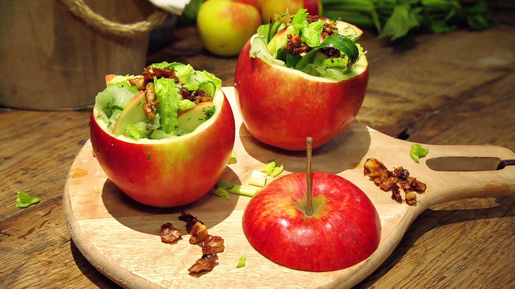 Ein echter Alleskönner - Leckeres mit Apfel