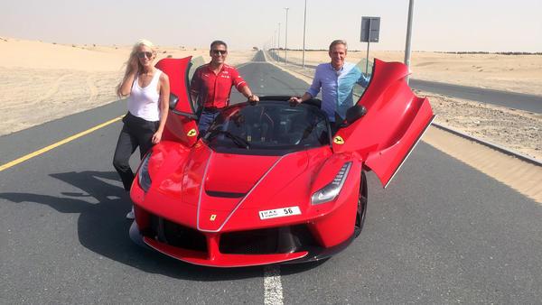 """Matthias besucht """"Supercar Blondie"""" in Dubai!"""