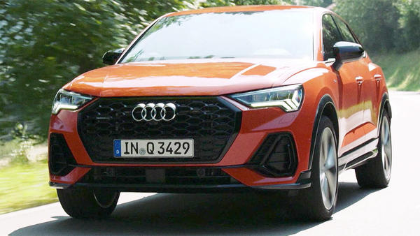 Thema heute u.a.: Audi Q3 Sportback mit Andreas