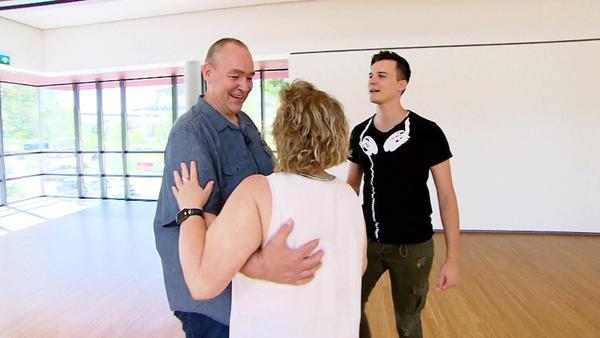 Nadja und Rainer schwingen das Tanzbein