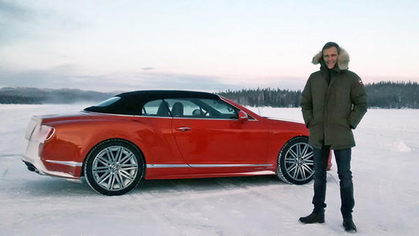 Der Bentley Continental GTC Speed