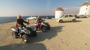 Inseltour auf Mykonos