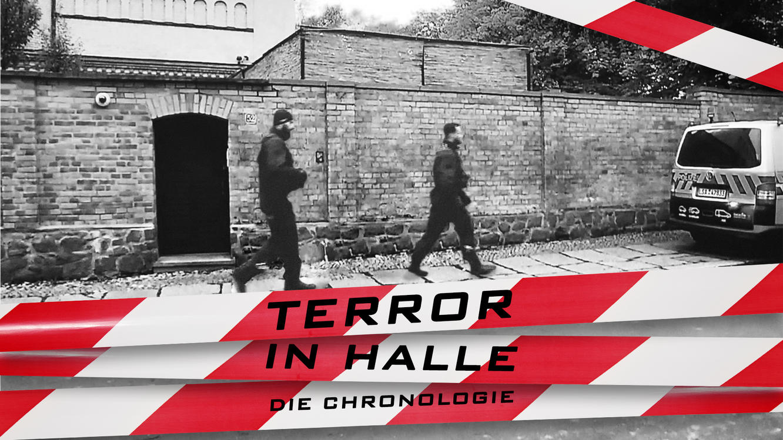 Terror in Halle - Die Chronologie im Online Stream   TVNOW