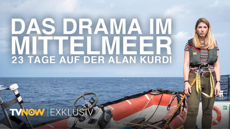 Das Drama im Mittelmeer: 23 Tage auf der Alan Kurdi im Online Stream | TVNOW