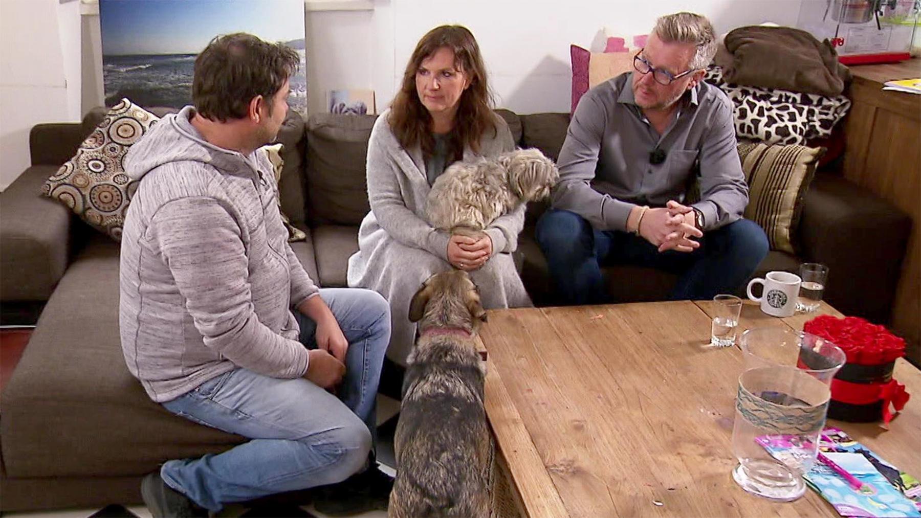 Heute u.a. mit: Katharina & Ralf mit Mischling Chewbacca