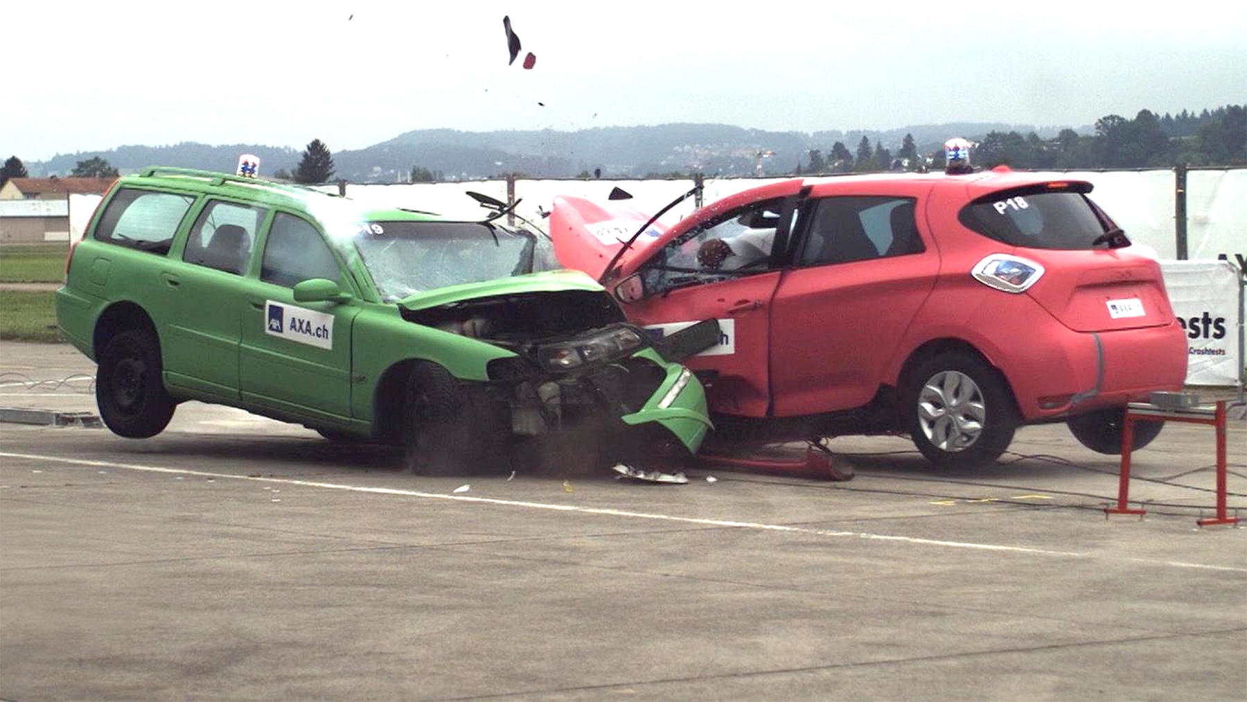 Thema heute u.a.: E-Auto Crashtest