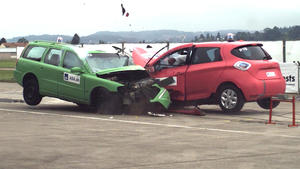 Thema heute u.a.: E-Auto Crashtest