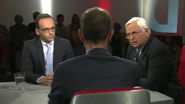 Heiko Maas vs. Michael Schick