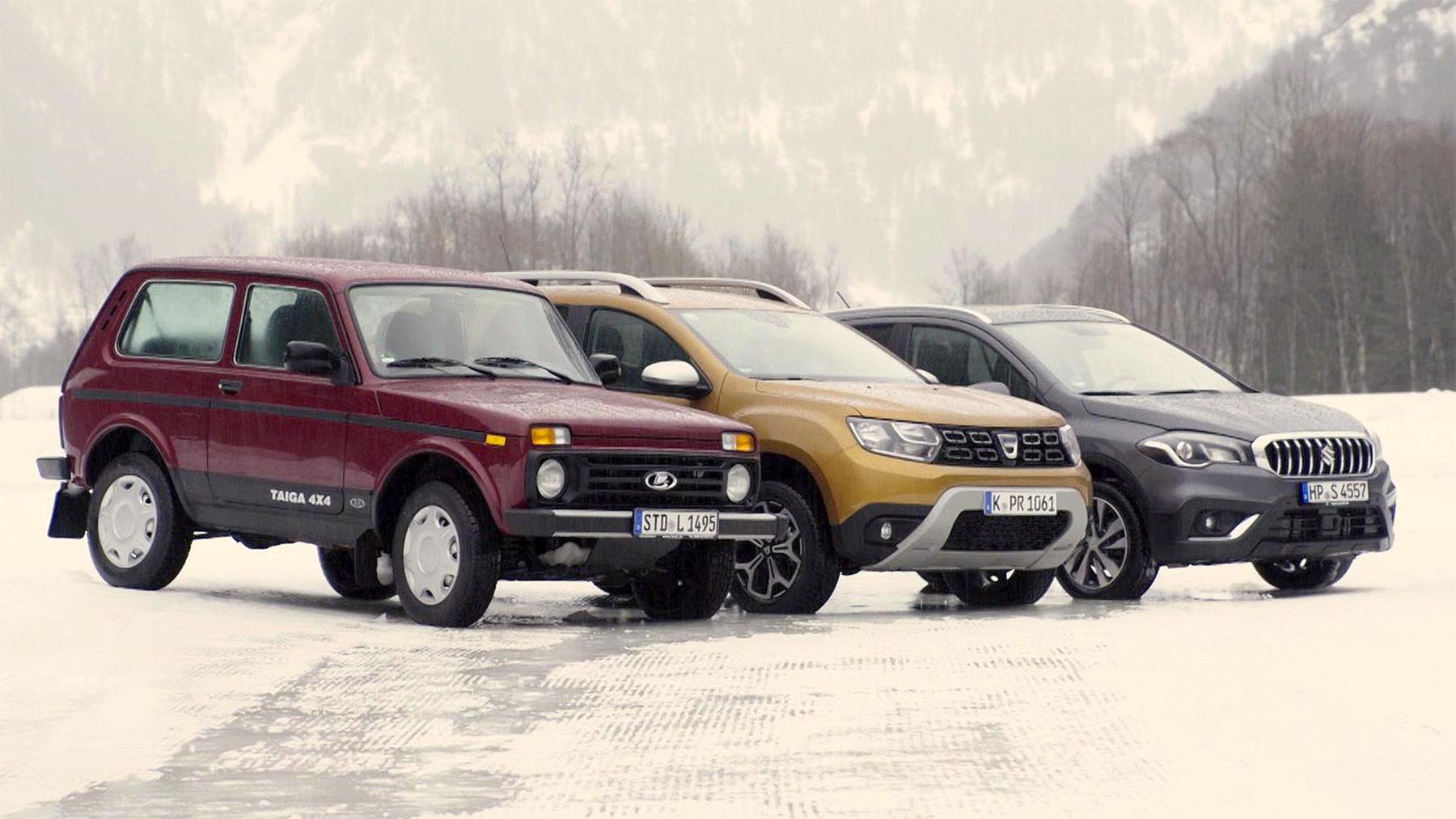 Thema heute u.a.: Kleine Allradler im Schnee