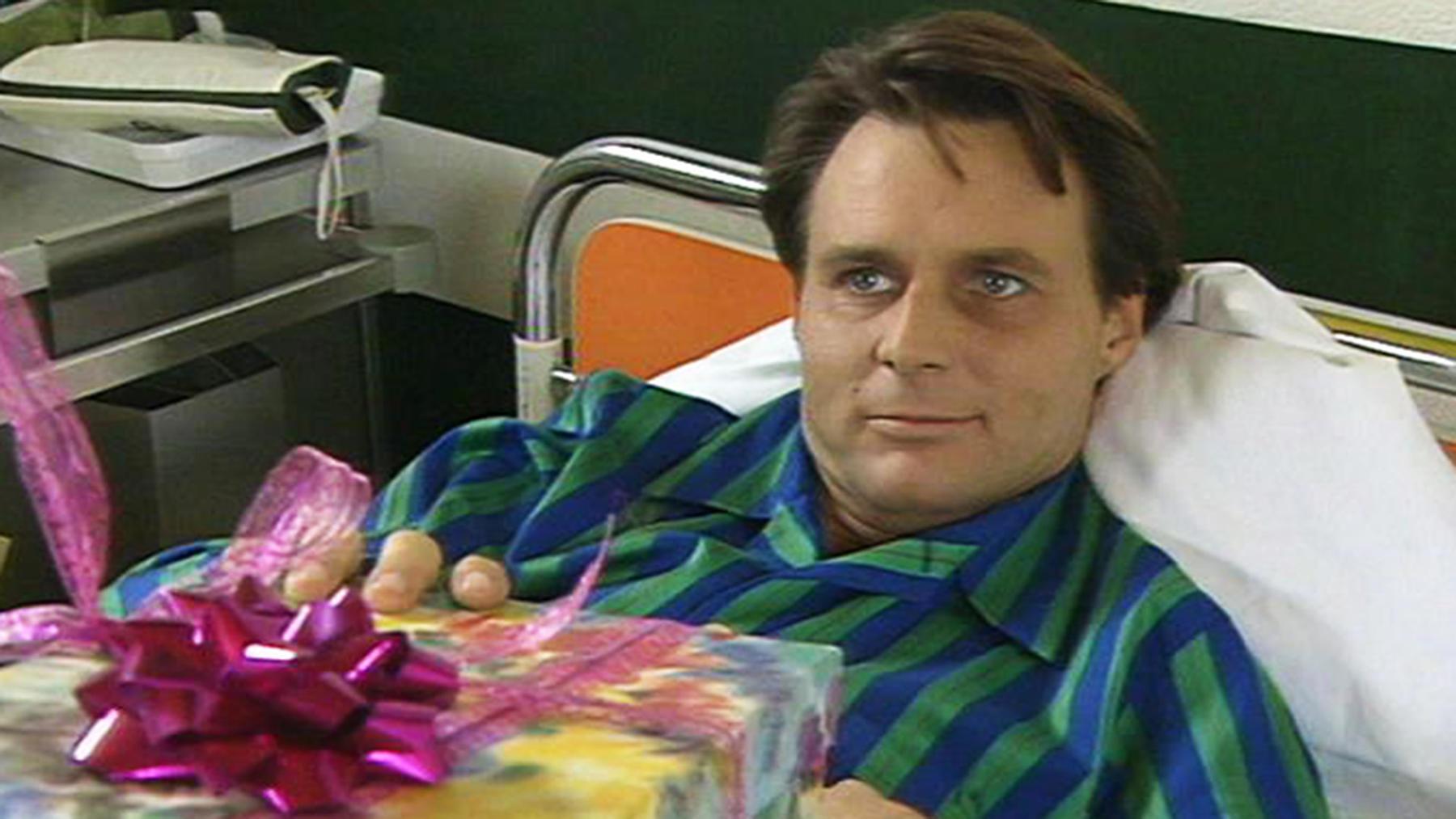 Gerner sieht mit Bangen seiner Operation entgegen.