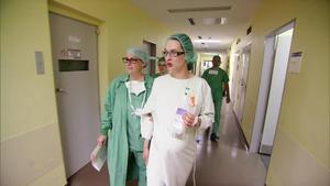 Katjas Kaiserschnitt verläuft problemlos