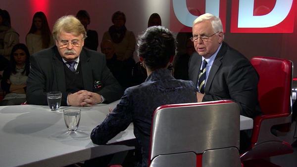 Sahra Wagenknecht vs. Elmar Brok