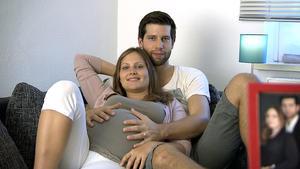 Sandhya und ihr Mann Bénédict