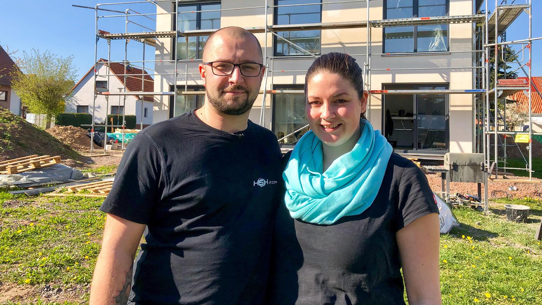 Heute u.a.: Ulrike und Simon und ihr Fertighaus!