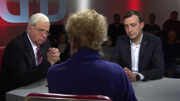 Gesine Schwan vs. Paul Zemiak