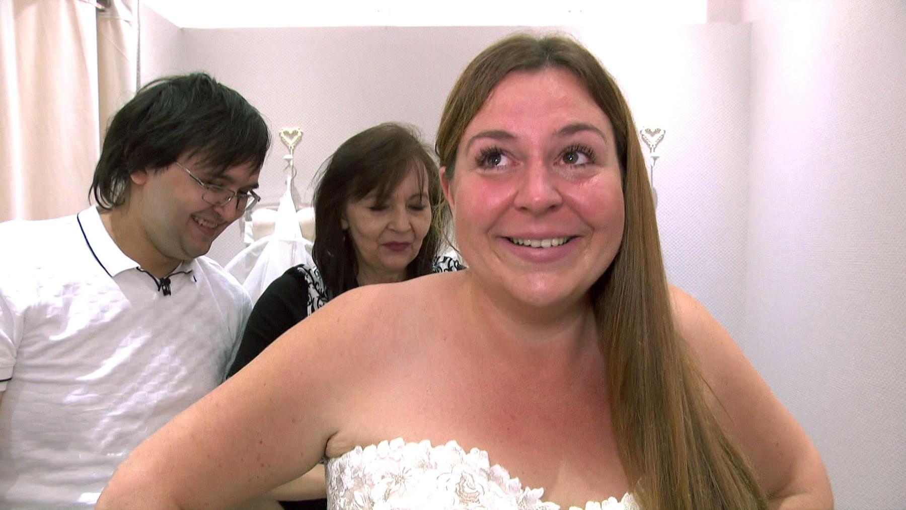 Braut auf Diät