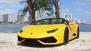 Der neue Lamborghini Huracán Spyder