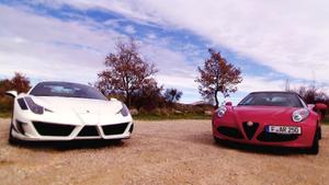 Der neue Alfa Romeo 4C Spider