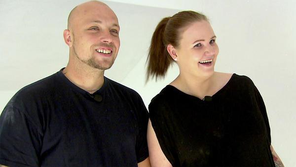 Heute u.a.: Jennys und Maiks Kampf mit der Terassentüre