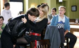Tobias lockt Romy aus der Reserve