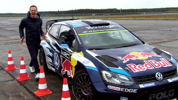 Sébastien Ogiers VW Polo R WRC