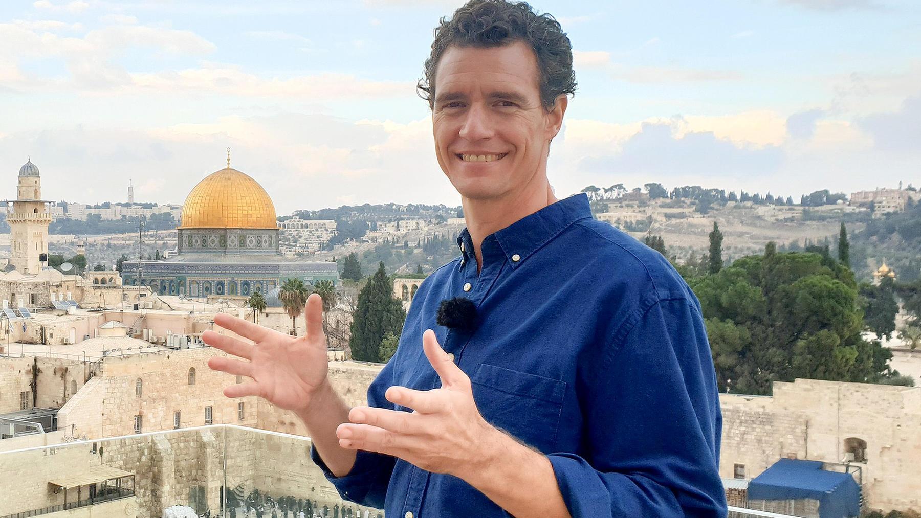Heute u.a.: Tom Franz, Israel
