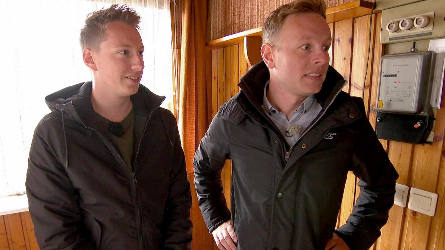Heute u.a.: Haussanierung mit Marcel und Chris