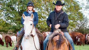 Thema heute u.a.: Viehtrieb nach Cowboy-Art!