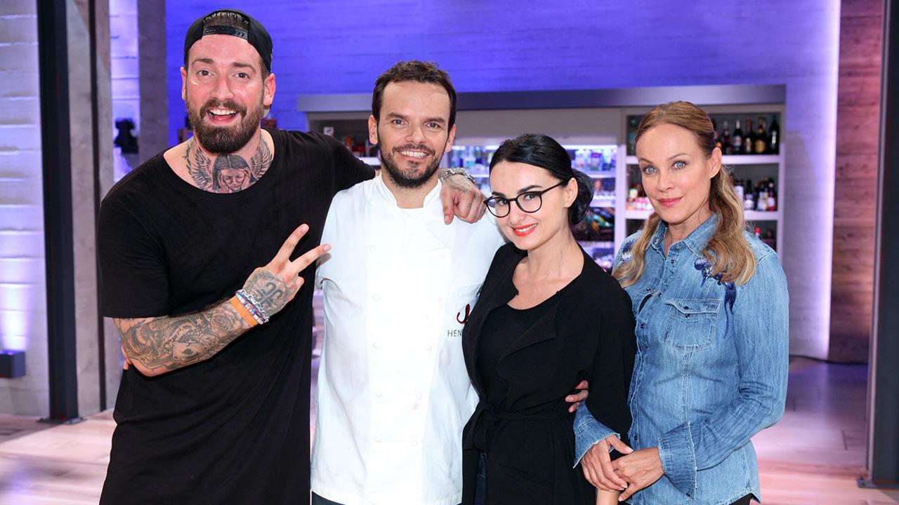 Mit Mimi Fiedler, Sonja Kirchberger und Jan Leyk