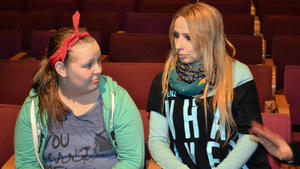 Linda und Ann-Katrin